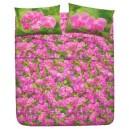 Completo letto piazza e mezzo Orchidea
